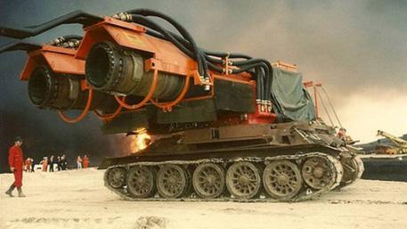 Гибрид Т-34 и МиГ-21: Необычное оружие инженерных войск