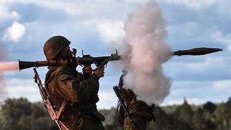 Российские мотострелки провели стрельбы из гранатометов в Абхазии