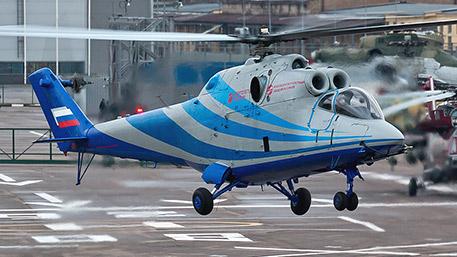 Новый российский вертолет совершит полет со скоростью 450 км/ч