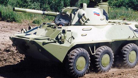 Морпехи РФ провели стрельбы из орудий «Нона» в Дагестане