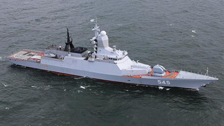 Корветы «Стойкий» и «Сообразительный» отстрелялись ракетами комплексов «Уран» и «Редут»