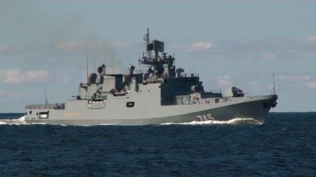 «Адмирал Григорович» вошел в состав группировки ВМФ в Средиземноморье