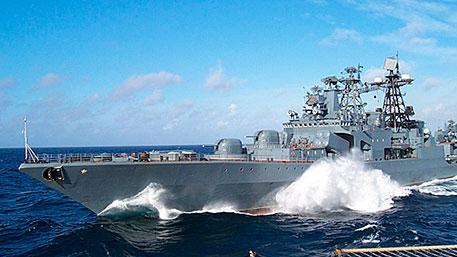 «Адмирал Виноградов» отразил воздушный удар «противника» в рамках проверки