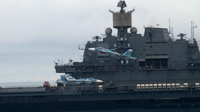 У британского авианосца нет никаких шансов против «Адмирала Кузнецова» – эксперт