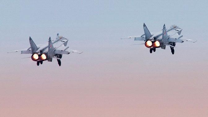 МиГ-31 на Камчатке уничтожил сверхзвуковую ракету в стратосфере
