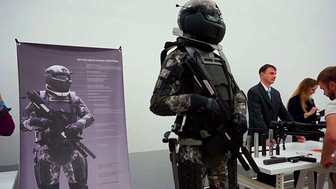 Первые испытания боевых экзоскелетов прошли в России