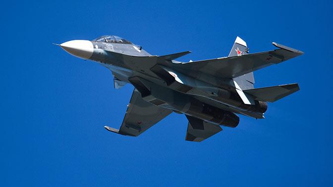 Истребитель Су-30СМ сбил крылатую ракету над Черным морем