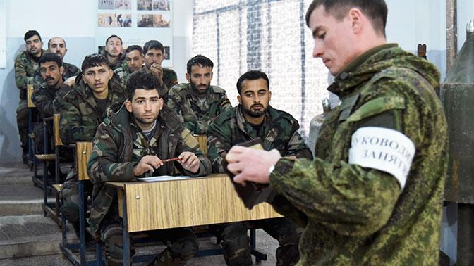 Военные Центра разминирования РФ обучили более 600 саперов в Хомсе