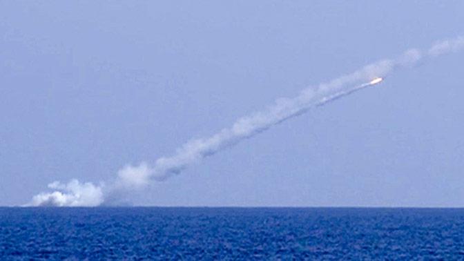 Командование ЧФ оценило пуски «Калибров» с подлодок в Черном море