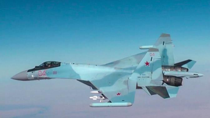 ВКС РФ совершили за неделю в Сирии более 390 вылетов