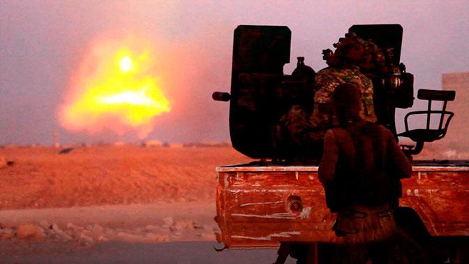 США прикрывают боеспособные отряды ИГИЛ* в Абу-Кемале – Минобороны РФ