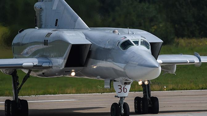 Бомбардировщики Ту-22М3 нанесли авиаудар по террористам в Сирии