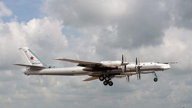 Два Ту-95МС российских ВКС патрулировали юг Тихого океана