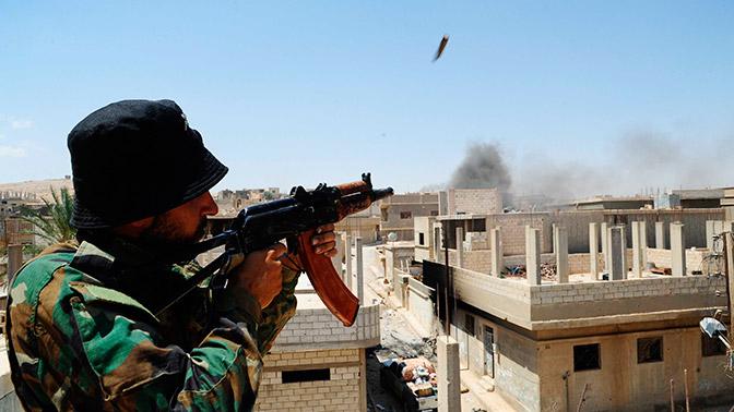 Сирийская армия нашла склад соружием боевиков вАбу-Кемале