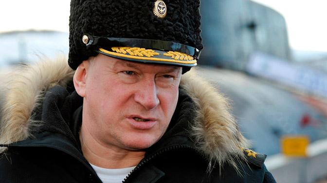 Руководитель Мурманской области поздравила Евменова сприсвоением звания адмирала