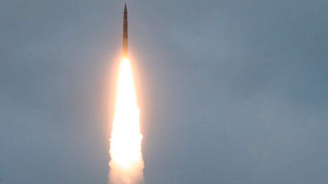 С полигона Капустин Яр проведен испытательный пуск межконтинентальной баллистической ракеты