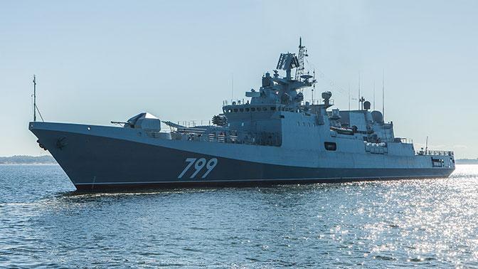 Третий фрегат проекта 11356 «Адмирал Макаров» войдет в состав ВМФ РФ