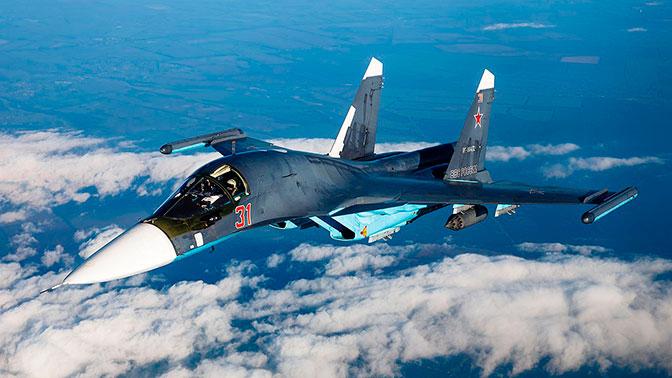 Первая в новом году партия бомбардировщиков Су-34 передана ВКС