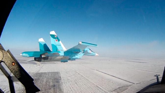 Приземление на зимнее шоссе: видеоурок от пилотов Су-30 и Су-34