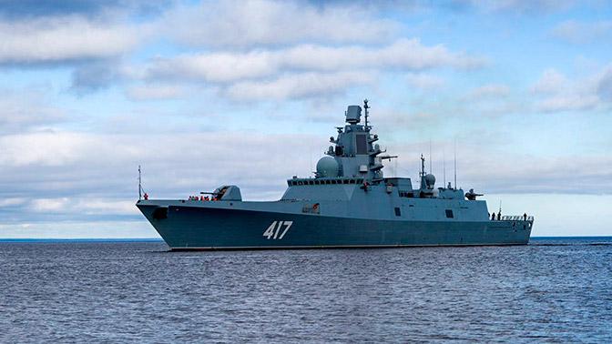 Напугавший США фрегат «Адмирал Горшков» поднимет Андреевский флаг косени 2018 года