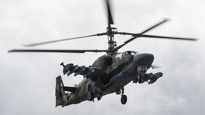 Минобороны закупит 114 новых боевых вертолетов Ка-52 «Аллигатор»