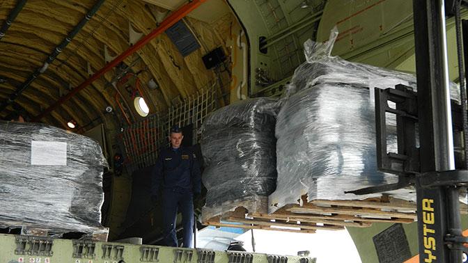 В лагерь беженцев под Дамаском доставлена гуманитарная помощь из Чечни