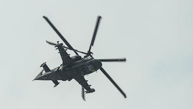 Два ударных вертолета Ка-52 «Аллигатор» поступили в авиаполк на Кубани