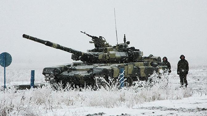 Танкисты соединения ЮВО, дислоцированного в Волгоградской области, приступили к практическим занятиям на полигоне Прудбой