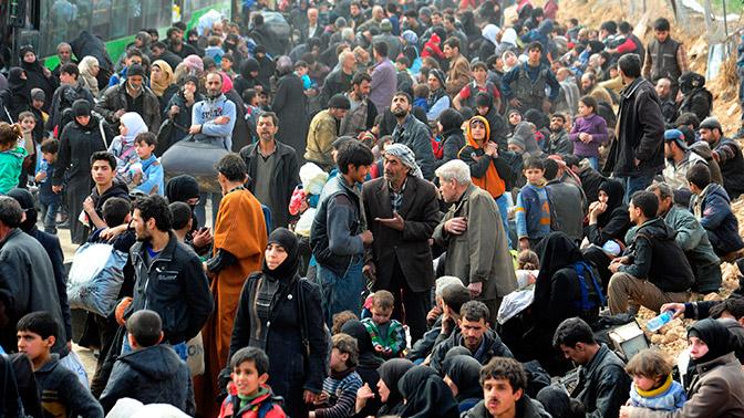 Неменее 68 тыс. человек покинули Восточную Гуту погумкоридорам