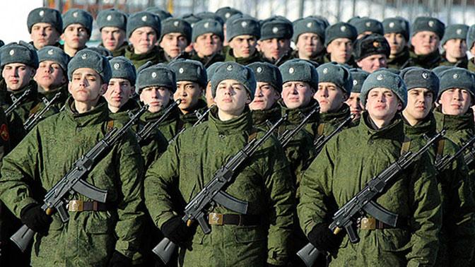 В России начинается призыв граждан на военную службу
