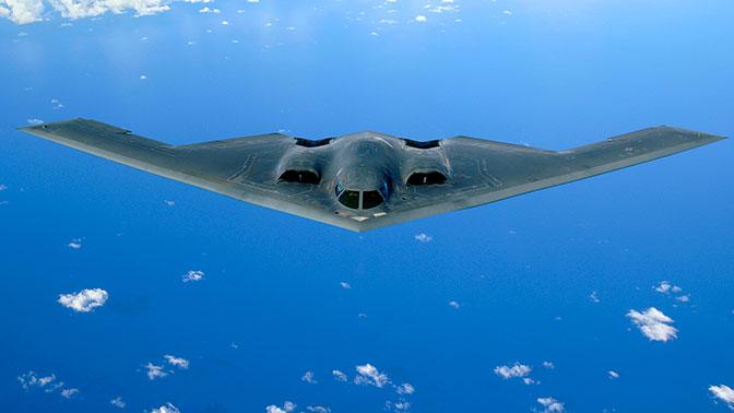 Американские B-2 постоянно совершают патрульные полеты над Тихим океаном - Генштаб ВС РФ