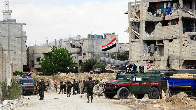 Всирийской Думе завершили вывод боевиков
