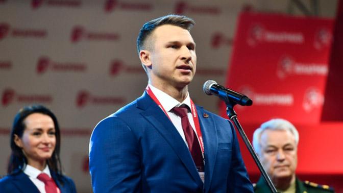 Дмитрий Труненков дал совет юнармейцам, участвующим в параде Победы