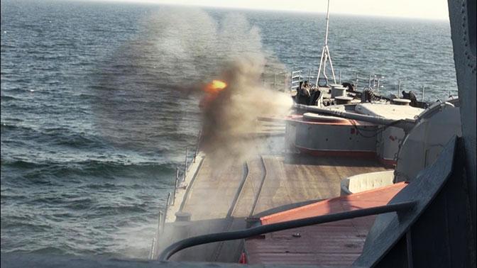 Корабли ТОФ сбили над Японским морем крылатую ракету условного противника