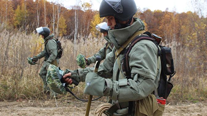 Найти и обезвредить: под Калининградом рассказали о возможностях новой техники для саперов