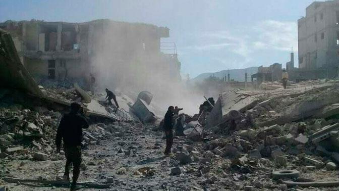 В Минобороны РФ дали оценку отчету ОЗХО о «химатаке» в сирийском Саракибе