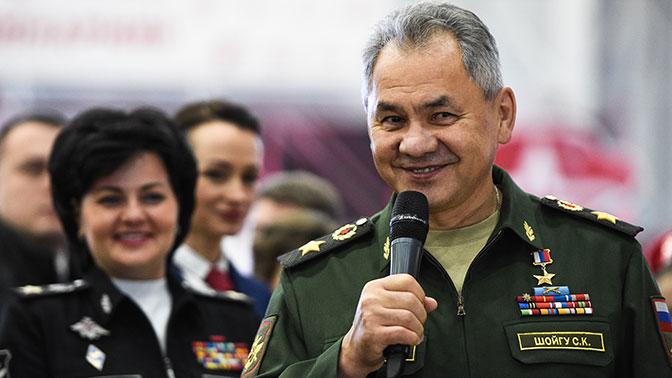 Главные достижения Шойгу на посту министра обороны за 5 лет