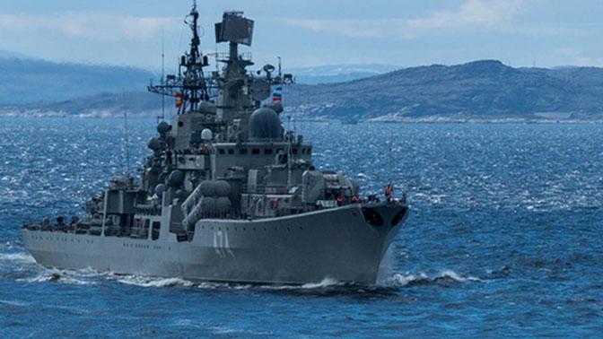 Начался самый масштабный за десять лет поход кораблей Северного флота