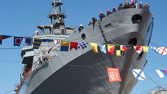 Второй новейший корабль-разведчик готов войти в состав ВМФ России