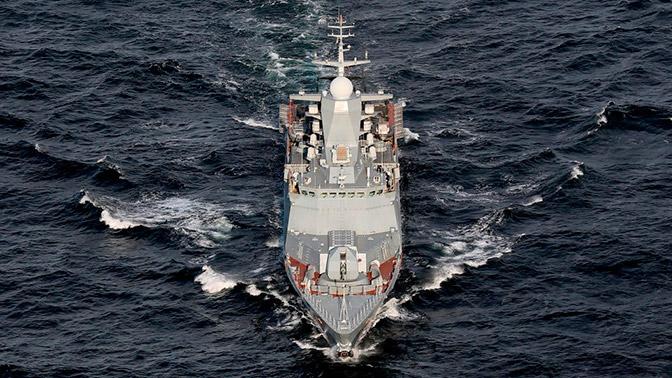 Корабли Балтийского флота провели учения в Северном море