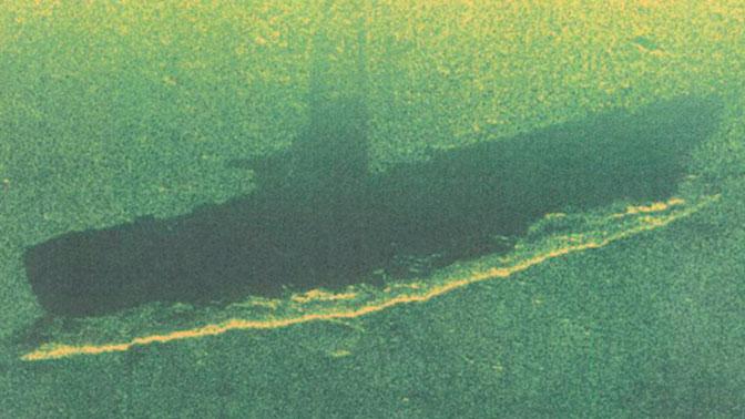 Моряки Балтийского флота обнаружили затонувшую подводную лодку времен Войны