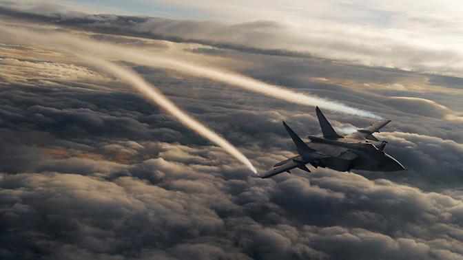 Российские истребители за неделю совершили семь перехватов иностранных разведчиков