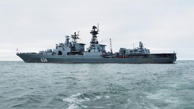 Корабли СФ прибыли в самый северный порт России