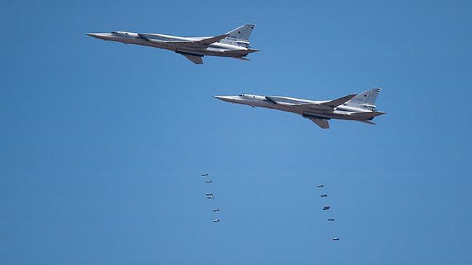 Экипажи Ту-22М3 нанесли удар по аэродрому «противника» на «Востоке»