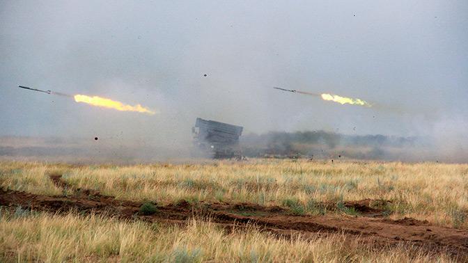 Единый день огня провели более 6000 артиллеристов ЮВО