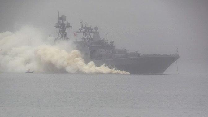 Отряд кораблей СФ вернулся на главную базу флота после дальнего похода