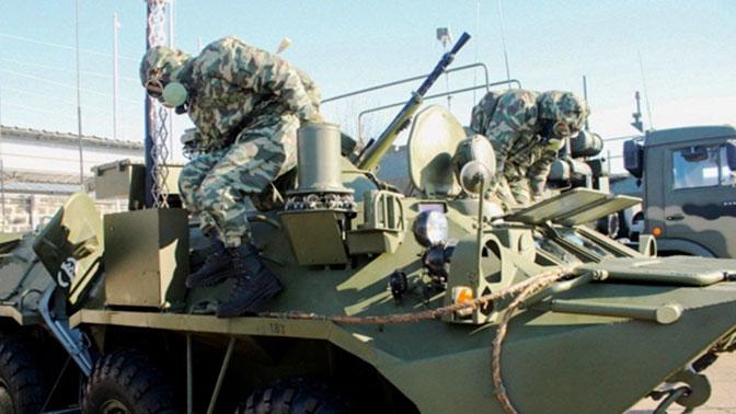 В Идлиб перебросили шесть экипажей машин химразведки