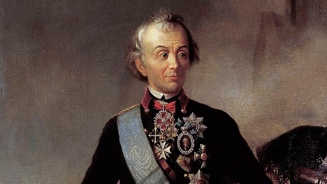 В академии имени Фрунзе отметили 288-ю годовщину со дня рождения Александра Суворова