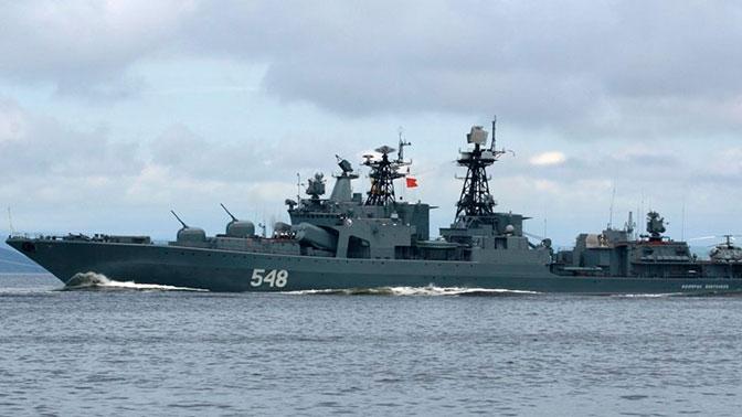 Отряд Тихоокеанского флота завершил деловой визит вСингапур