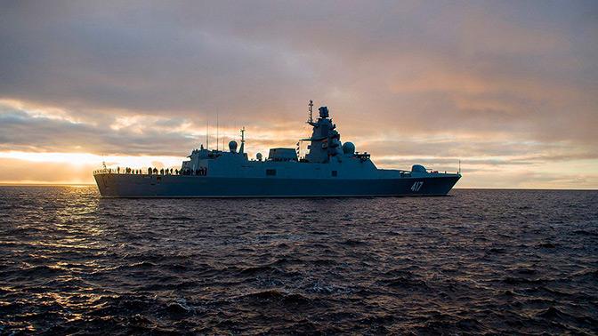 «Адмирал Горшков» отстрелялся «Калибрами» в Баренцевом море
